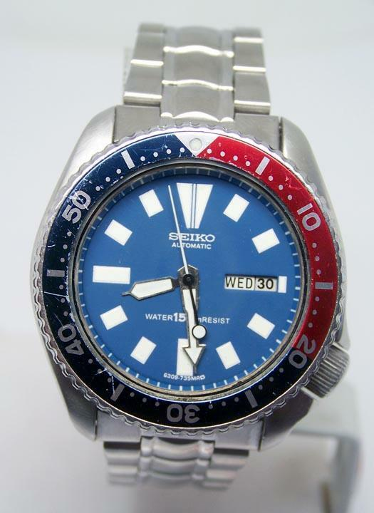 Seiko divers 150m automatic watch rare serviced tested ebay - Seiko dive watch history ...