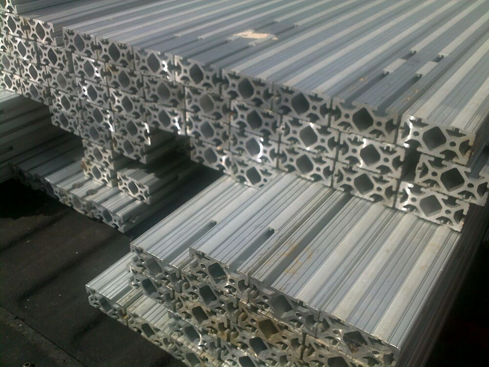 aluminum extrusion extruded 8020 channel profile t slot ebay. Black Bedroom Furniture Sets. Home Design Ideas
