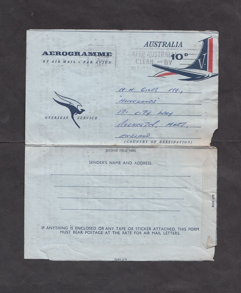 How Long Does It Take To Mail A Letter From America Australia