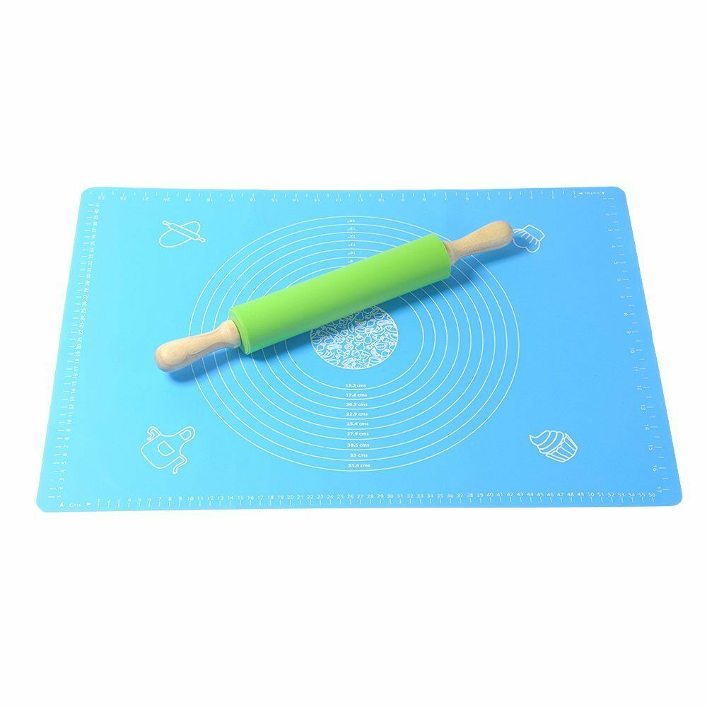 Creland Non Stick Silicone Rolling Pin Amp Large Silicone