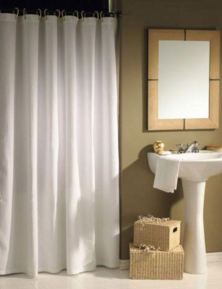 The Curtain Rod Shop Extra Wide Shower Curtai