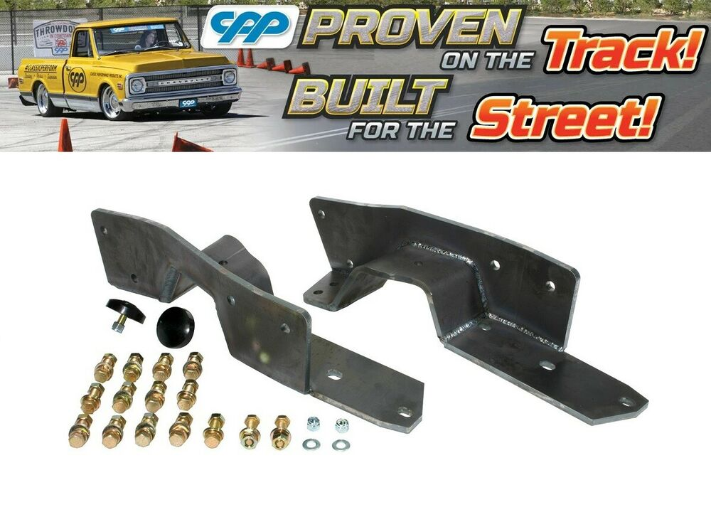 1963-1972 CHEVY C10 AND GMC TRUCK REAR FRAME C NOTCH KIT ...