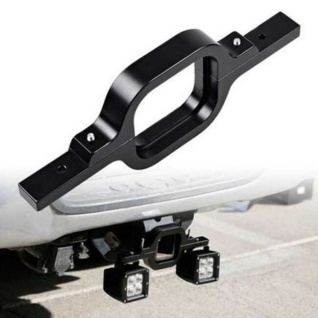 Car Offroad Tow Hitch Mount Bracket Dual Led Holder Back