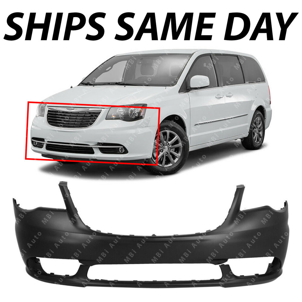 Front Bumper Cover Fascia For 2011-2016