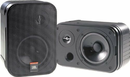 jbl control 1 pro high performance 150 watt mini studio monitor speaker pair ebay. Black Bedroom Furniture Sets. Home Design Ideas