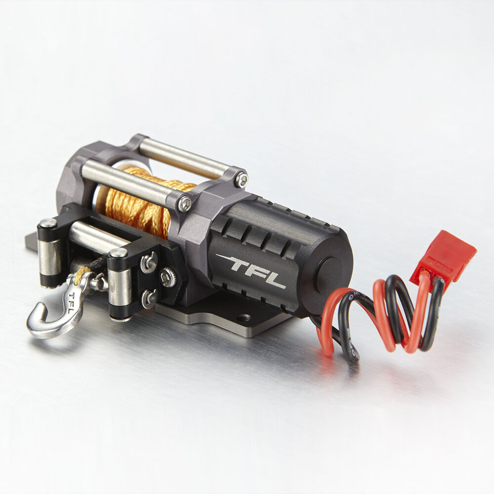 Tfl Rc Scale 1 10 Electric Winch Alumiunm Alloy For Rc