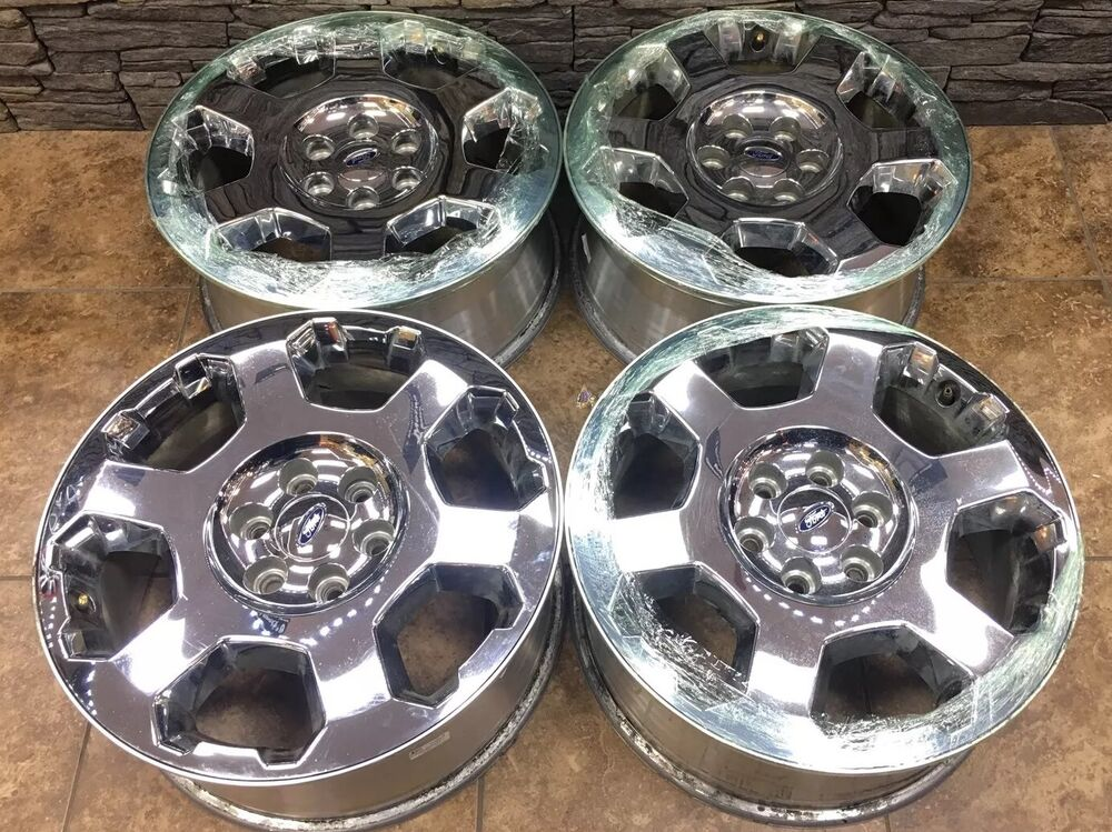 20 Quot 20 Inch Ford F150 Wheels Rims Chrome Oem Factory Original 4set 4 Set 3786 Ebay