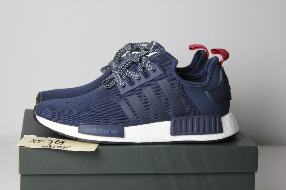 adidas nmd r1 blue navy pink w s76011 pk white red xr1