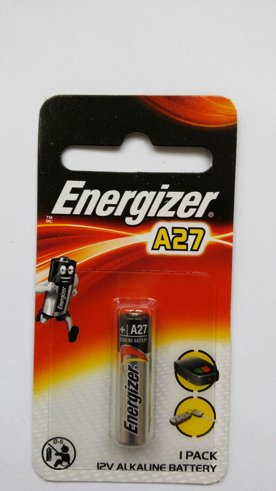 1 NEW Energizer A27 27A MN27 L828 VR27 GP27A 12V Battery CA Exp Date 2018 | eBay