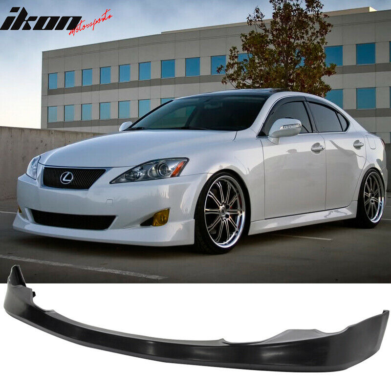 Lexus Is 250: 06-08 Lexus IS250 IS350 VIP Style Front Bumper Lip Spoiler