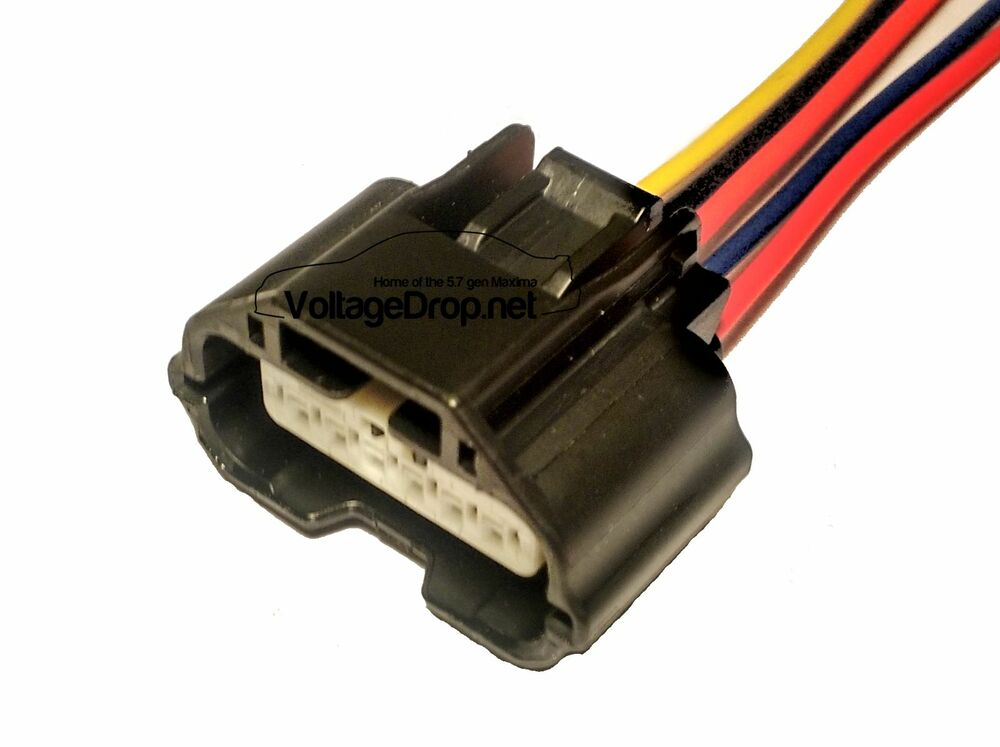 fits nissan infiniti mass air flow maf connector pigtail ... nissan maf wire diagram 2007