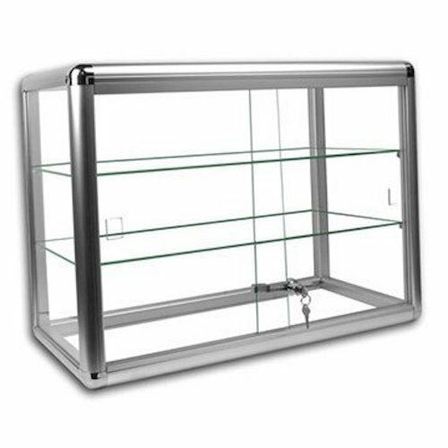Glass Countertop Display Case Store Fixture Showcase With