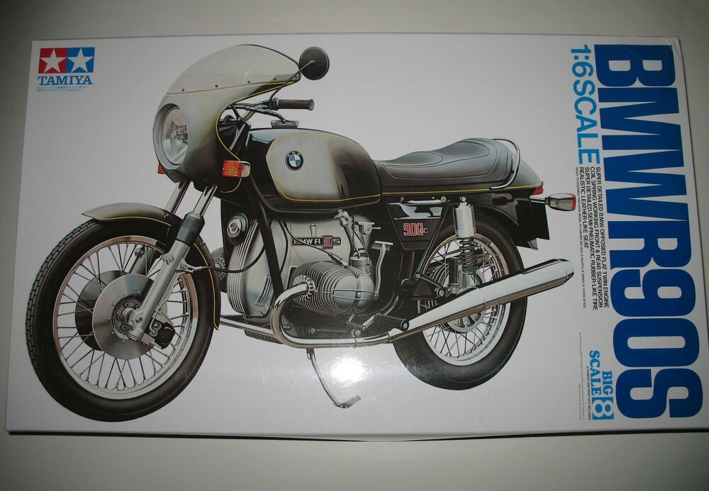 tamiya 1 6 bausatz bmw r90s ebay. Black Bedroom Furniture Sets. Home Design Ideas