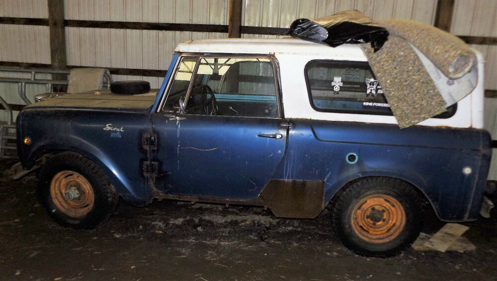 International Scout Rock Crawler : International scout parts or project good start for off