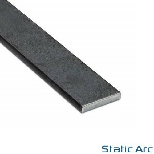 Mild Steel Flat Bar Solid Metal Strip 300mm Length 3 10mm