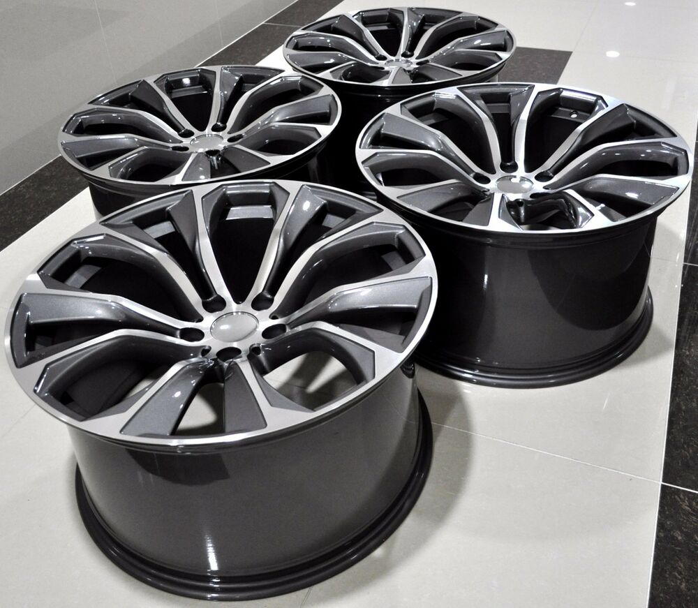 22 Quot 2016 X6 Sparkling Storm Style Staggered Wheels Rims