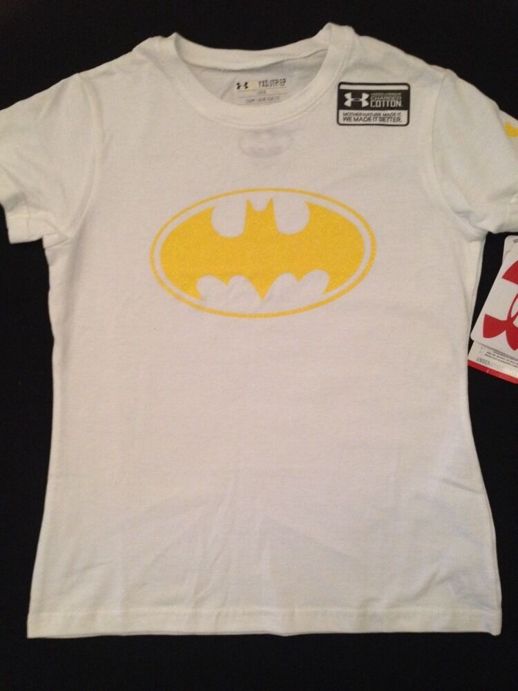 Under armour youth girls shirt size extra small medium for Under armour shirts for kids