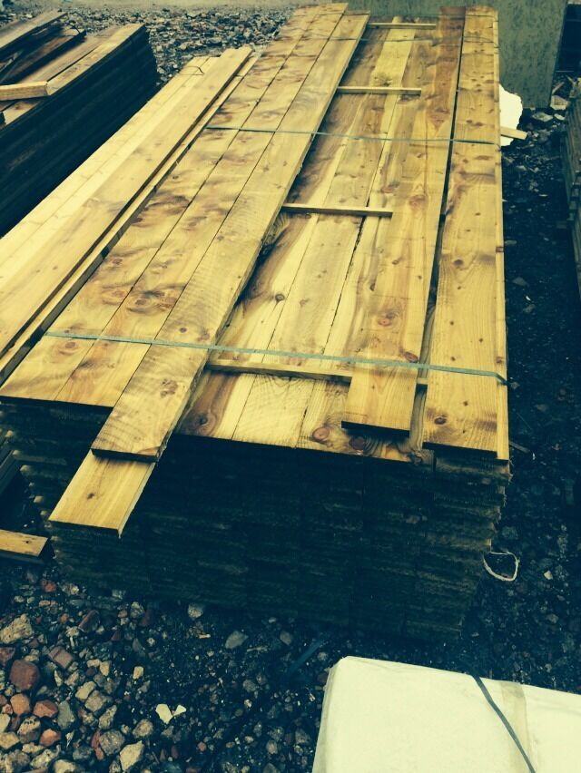 Timber treated m long for fencing cladding etc ebay