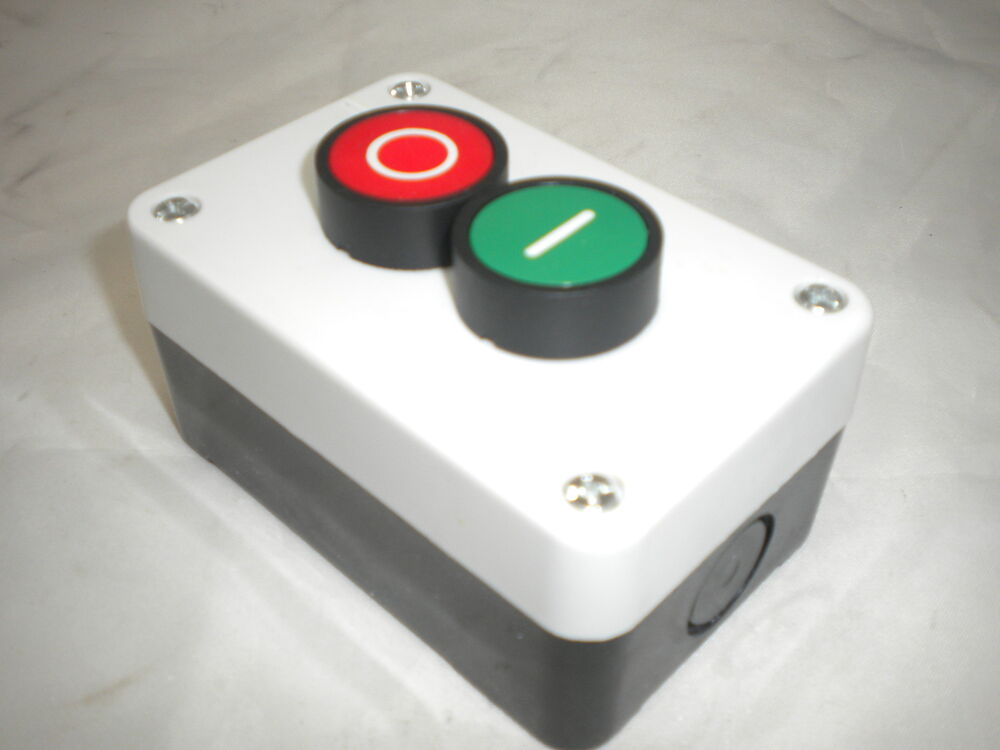 start stop station 2 push button momentary remote starter