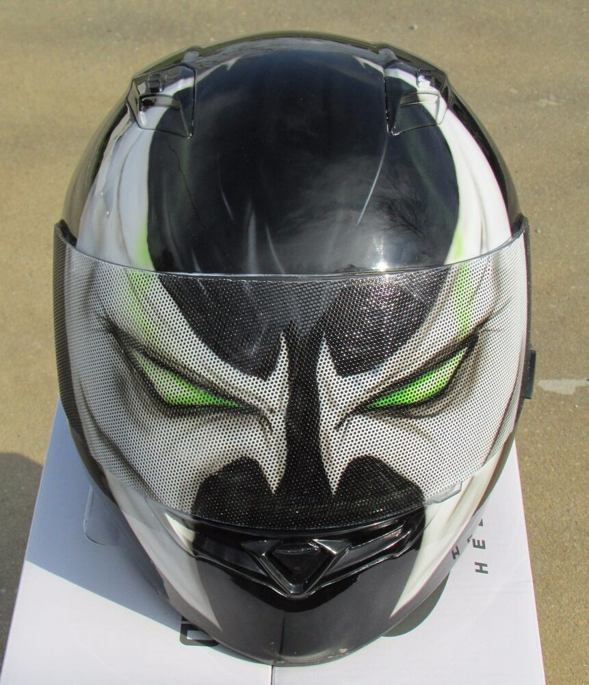 Voorkeur Spawn custom airbrushed painted motorcycle helmet | eBay &KN94