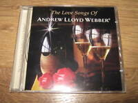 THE LOVE SONGS OF ANDREW LLOYD WEBBER - CD ALBUM - EXCELLENT CONDITION
