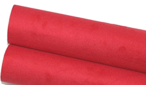 red upholstery faux suede adhesive back 1yd car auto interior fabric reform 57 ebay. Black Bedroom Furniture Sets. Home Design Ideas