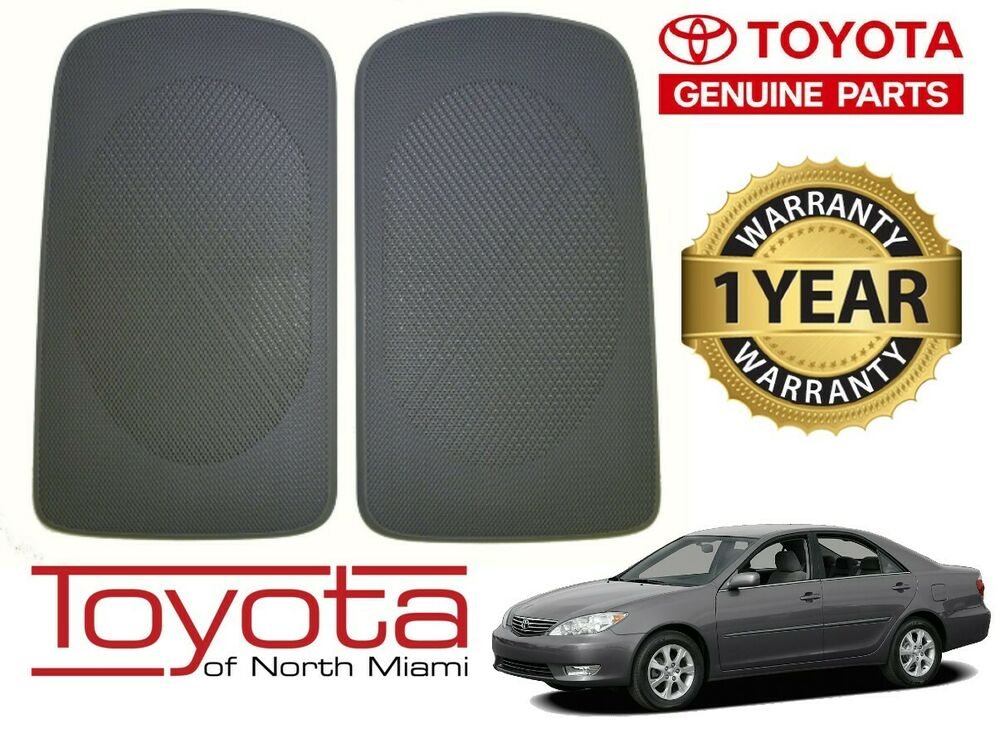 Toyota Camry 2002 2006 Genuine Oem Rear Speaker Grill