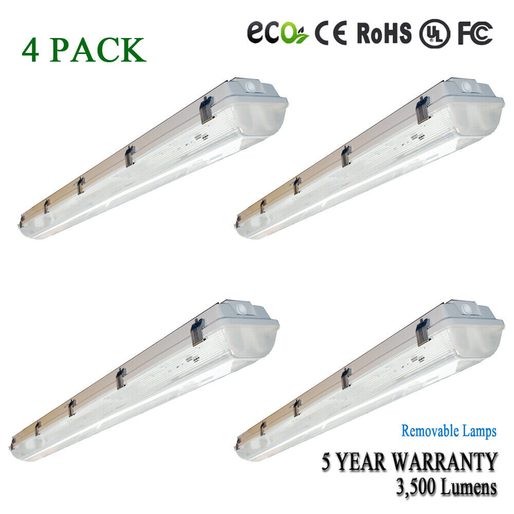 4' FT Shoplight Garage Ceiling Light Fixture 3500 Lumens