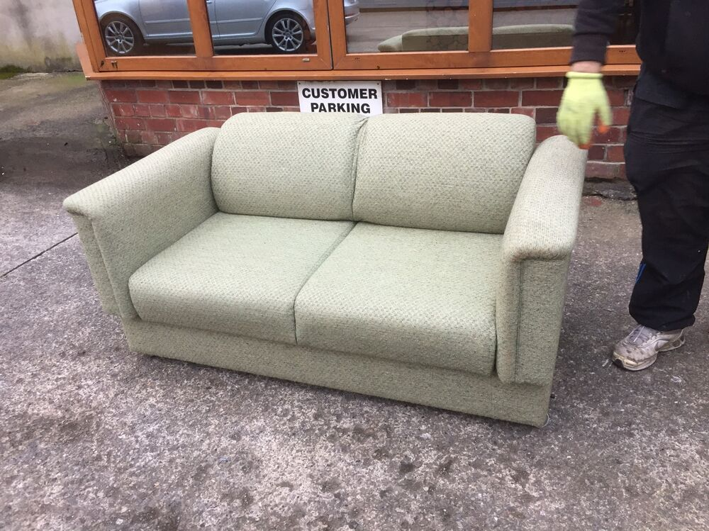 Small Parker Knoll Settee Sofa Bed Ebay