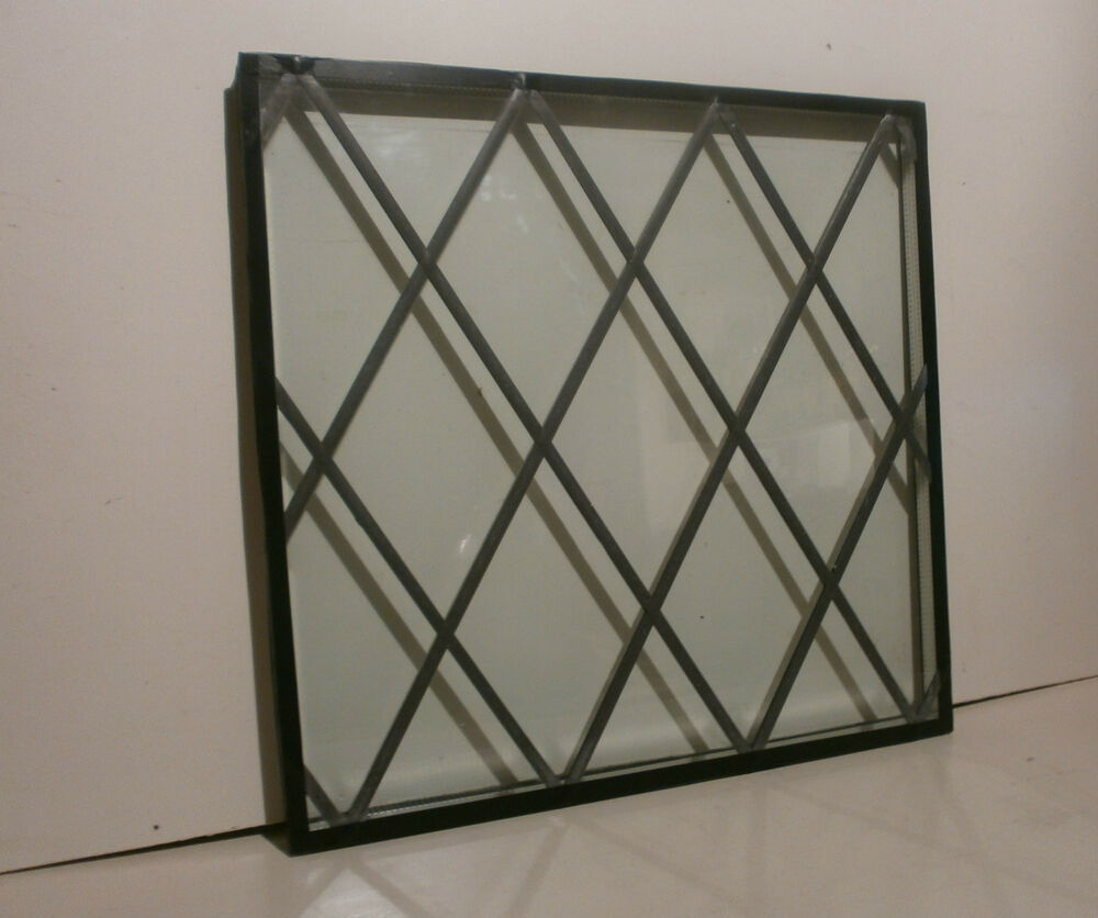 Double Glass Window With Lights : Double glazed leaded light stained glass ebay