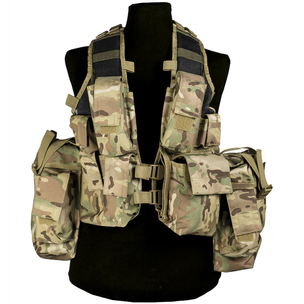 Mil-Tec South African Army Tactical Assault Military Gear ...