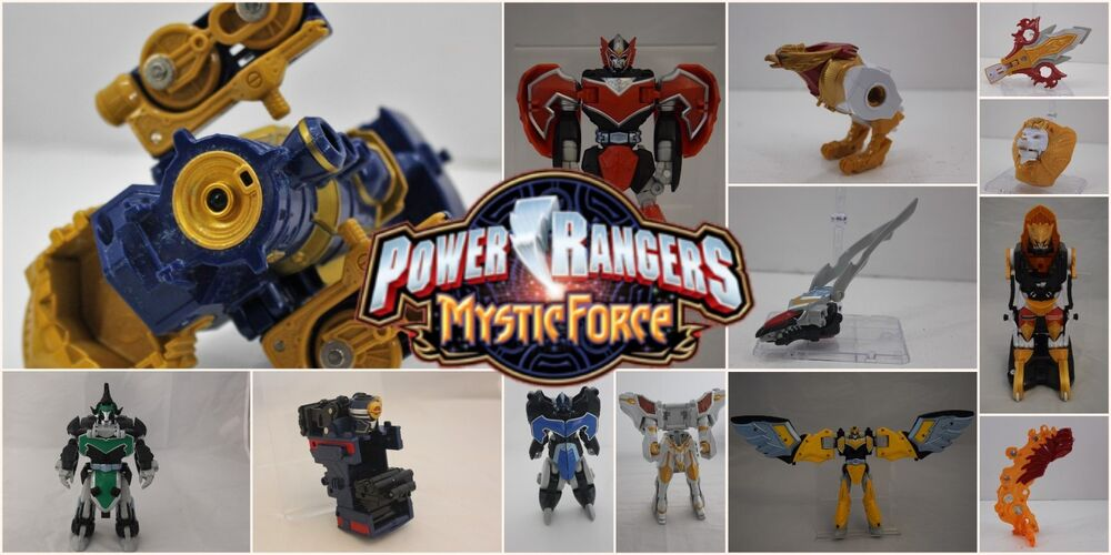 Power Rangers Megazord Parts - Mystic Force