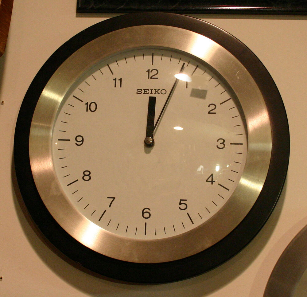 Seiko 11 In Wall Clock Ebay