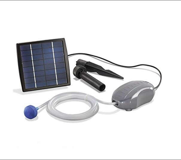 Solar pond pump sun power garden patio pool water filter for Solar pond filter