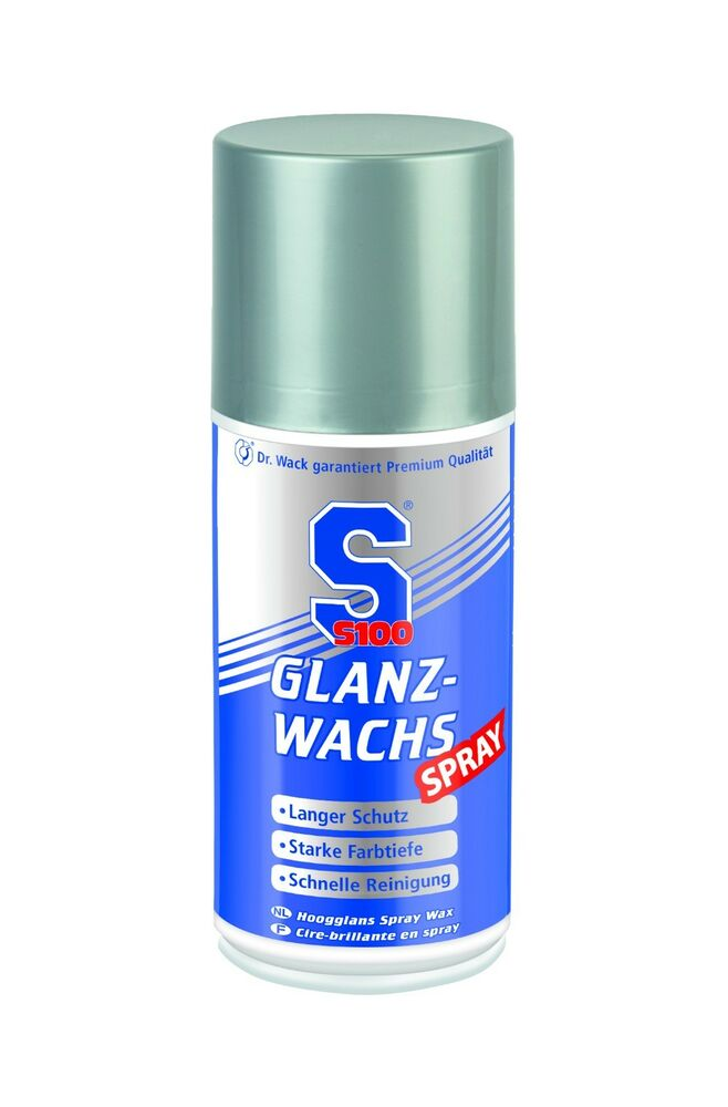 dr wack s100 glanz wachs spray 250 ml ebay. Black Bedroom Furniture Sets. Home Design Ideas