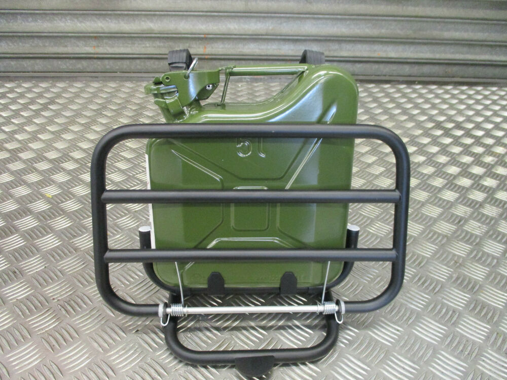 Vespa Px 125 200 Front Carrier Touring Kit With 5l Fuel