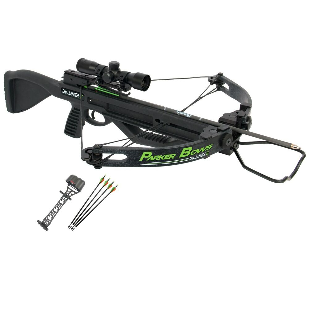 Parker Bows Crossbow Bow Chalenger Ii 4x Mr Scope 300fps