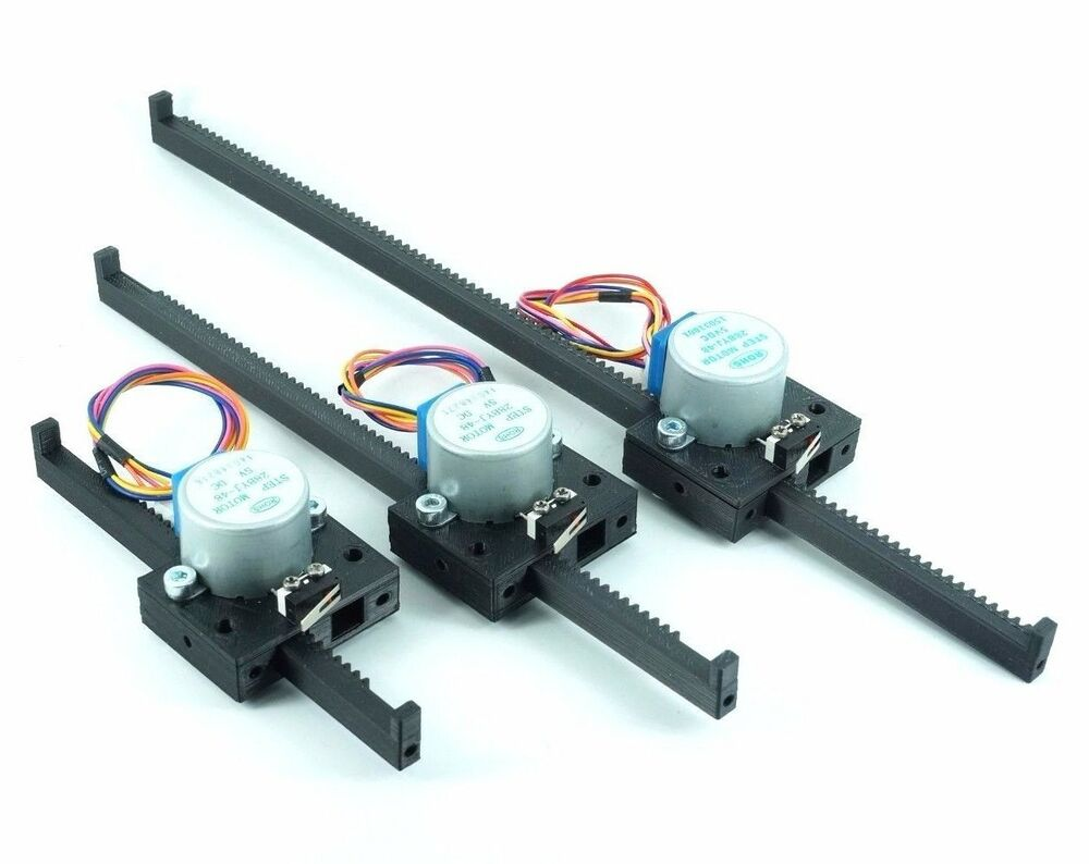 Linear actuator stepper motor 4 arduino raspberry pi for Servo motor linear actuator