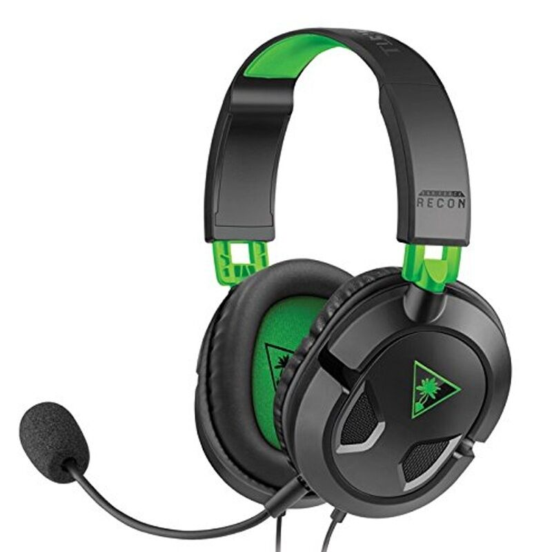 turtle beach recon 50x stereo gaming headset f r xbox one. Black Bedroom Furniture Sets. Home Design Ideas