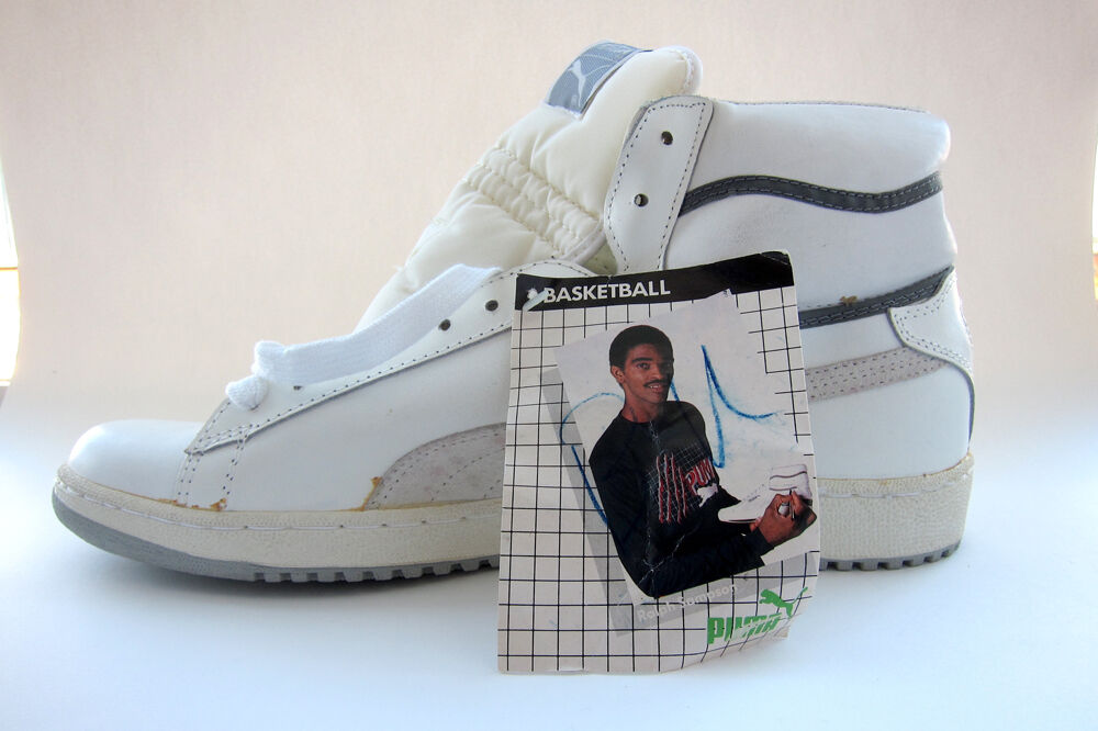 fbdd2ff55b19 Details about Vintage Puma Ralph Sampson Basketball Sneakers