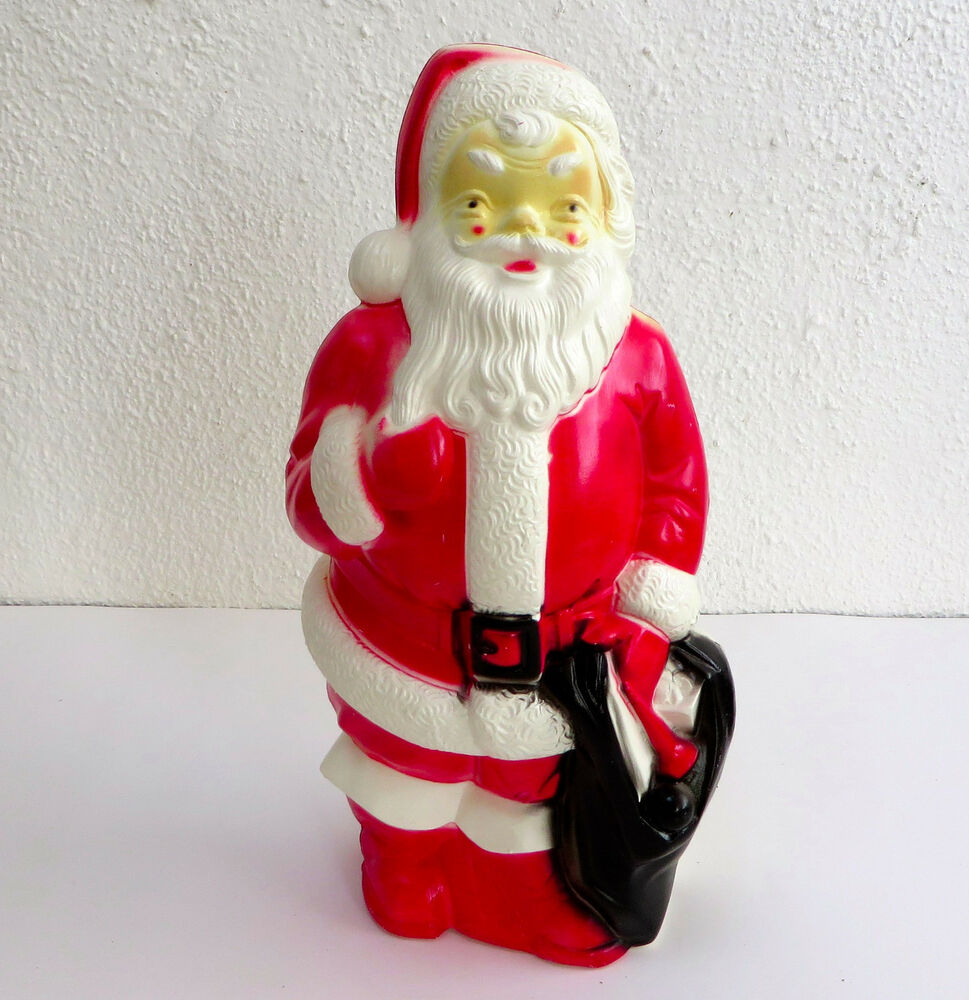 Vintage Empire Blow Mold Yard Santa Claus Light Up Figure