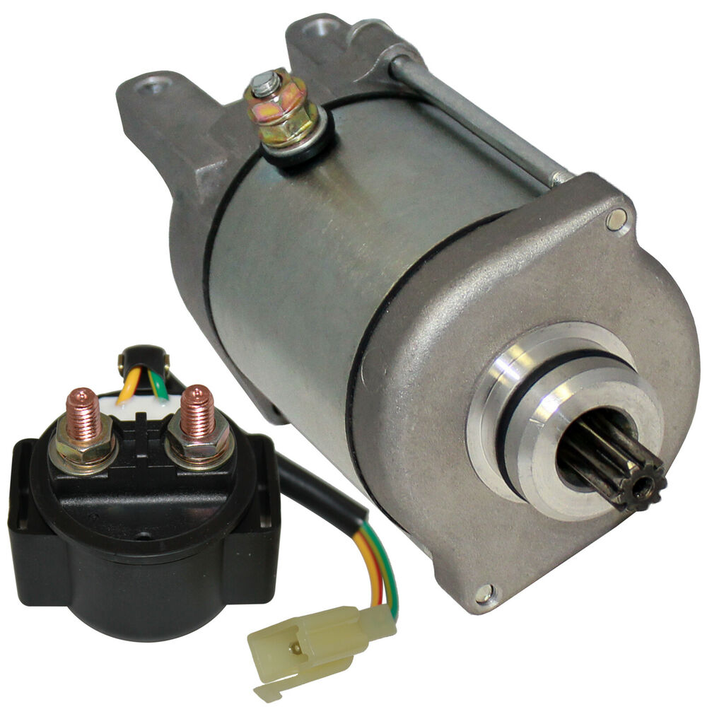 starter and relay solenoid fits bombardier can am ds250 ds. Black Bedroom Furniture Sets. Home Design Ideas