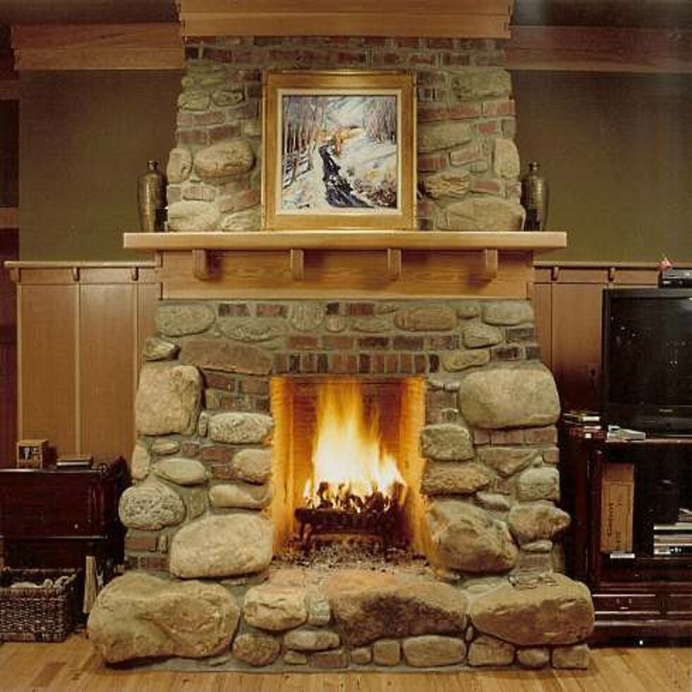 How To Build A Fireplace Wood Burning Make Gas Log Ceramic