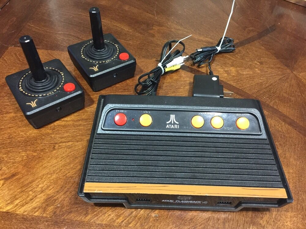 atari flashback 4 classic game console ebay. Black Bedroom Furniture Sets. Home Design Ideas