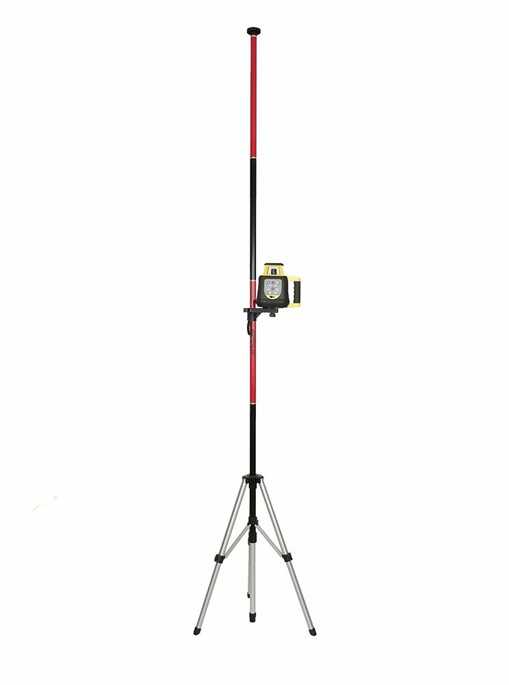 Adirpro Telescoping Rotary And Line Laser Pole With Tripod