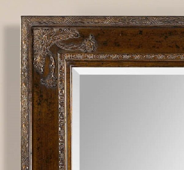 Xl Large French Style Ornate Wood W Gold Mirror Wall