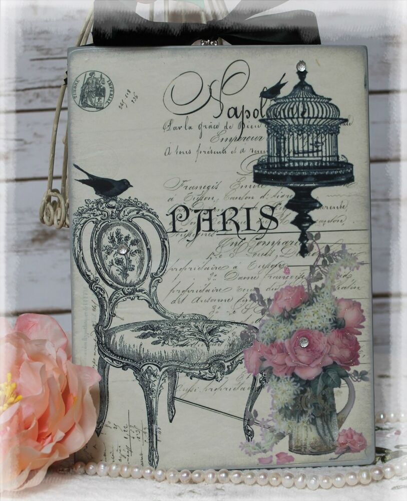 Paris vintage shabby country cottage style for Country wall art