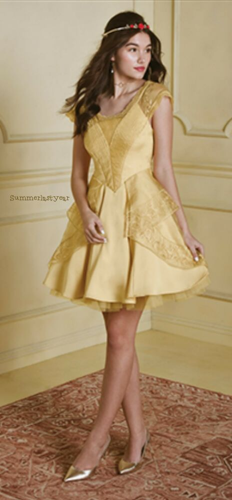 Beauty And The Beast Belle Ball Gown Disney Hot Topic