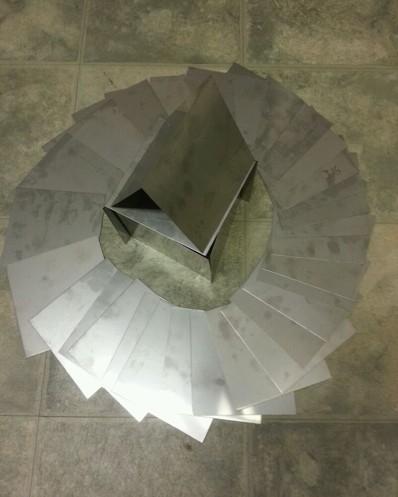 Stainless Steel 304 8 Pieces 24 Gage 2 Quot X 2 Quot Plate Flat