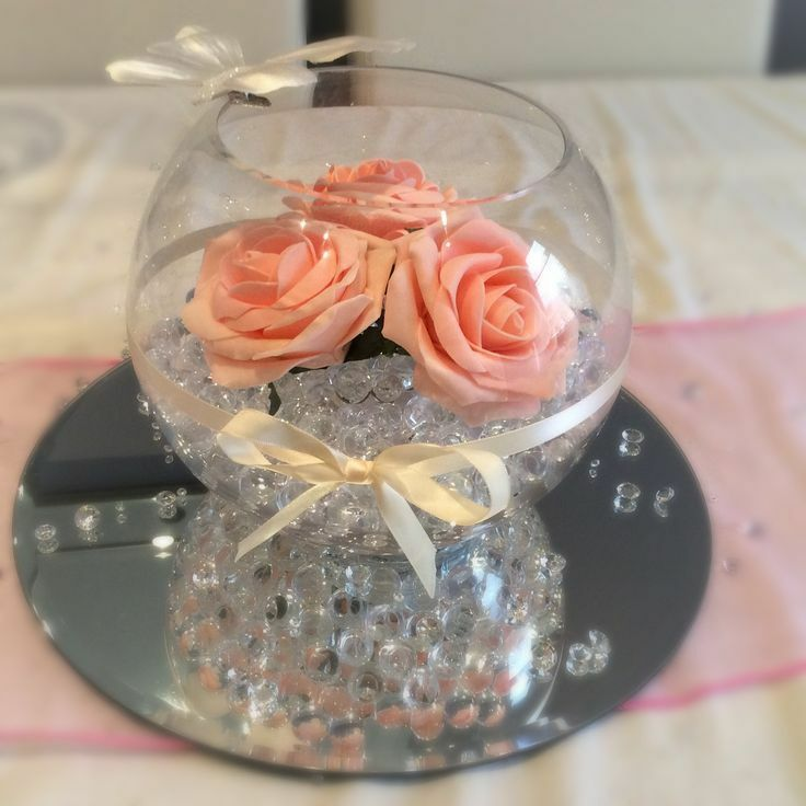 "4.5"" Fish Bowl Vase Bubble Ball Wedding Table Centre Piece ..."